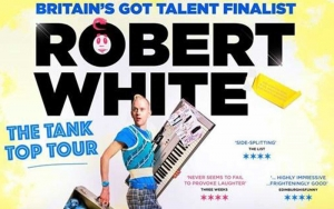 Robert White brings his Tank Top Tour to Poole
