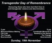 Transgender Day of Remembrance in Bournemouth
