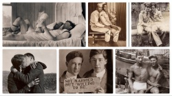 New Photobook Shows History of Men in Love, 1850-1950