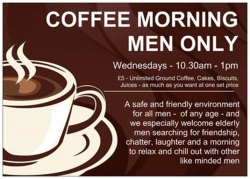 Men Only Coffee Morning