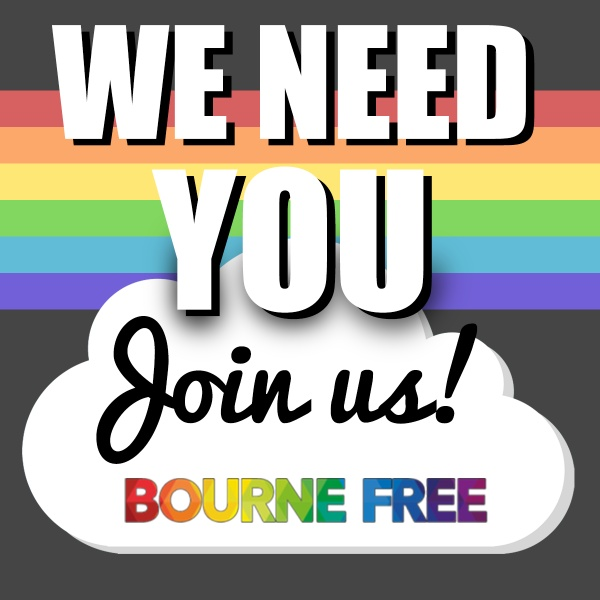 Bourne Free Needs You!