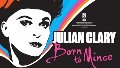 Julian Clary - Born To Mince comes to Poole in 2019