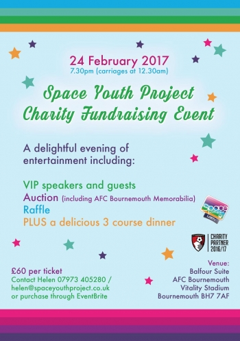 Space Youth Project Charity Event
