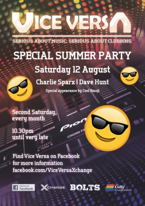 Vice Versa Summer Party - 12 August 2017